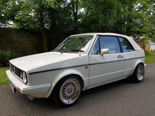 1986 VW Golf Mk1 GTi Cabriolet - Outstanding condition For Sale (picture 3 of 6)
