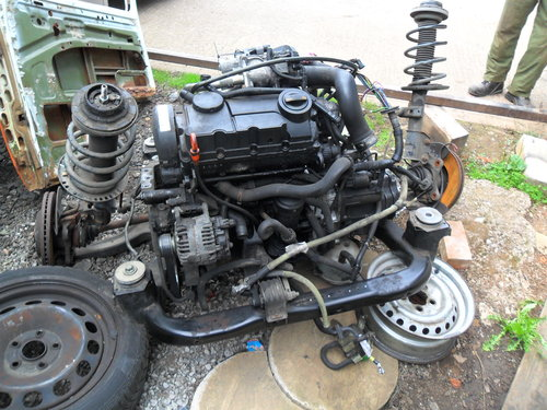 VW ENGINE AND GEAR BOX  For Sale (picture 1 of 3)