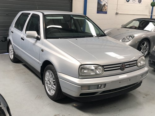 1997 VOLKSWAGEN GOLF MK3 2.8 VR6 AUTO **10k MILES** For Sale (picture 1 of 1)