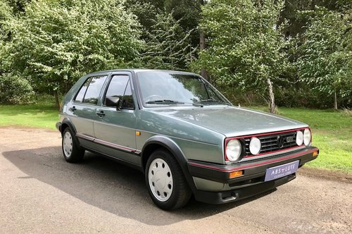1987  Mk2 Volkswagen Golf GTI - 1 owner from new - 80's hot hatch SOLD (picture 1 of 6)