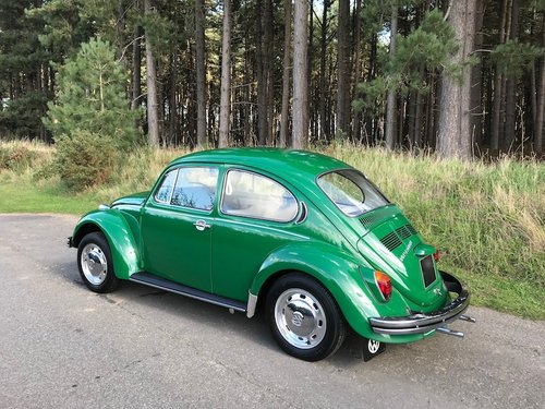 1972 Volkswagen Beetle 1300 - under 16k miles from NEW - Stunning SOLD (picture 2 of 6)