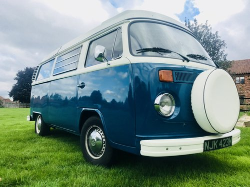Excellent Condition 1973 Bay VW CamperVan For Sale (picture 1 of 6)