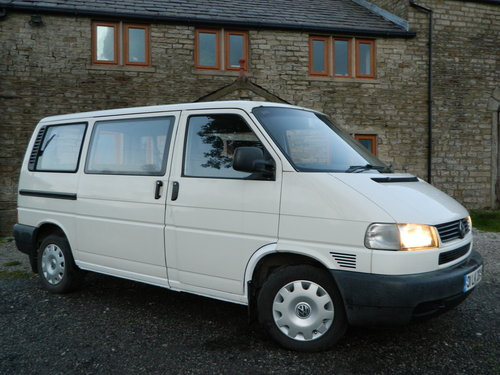 2001 VW CARAVELLE T4 2.4 facelift like Camper van For Sale (picture 1 of 6)