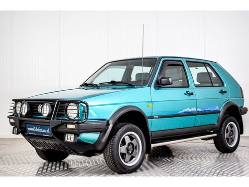 1992 Volkswagen Golf MK2 Syncro Country 4X4 For Sale (picture 1 of 6)