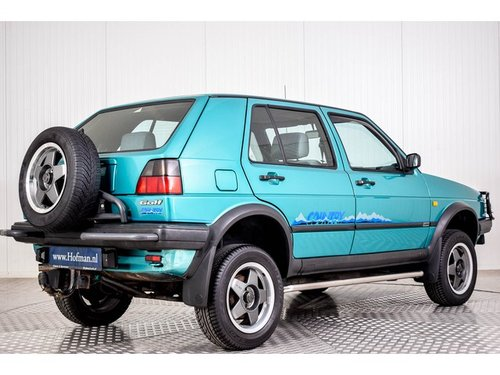 1992 Volkswagen Golf MK2 Syncro Country 4X4 For Sale (picture 2 of 6)
