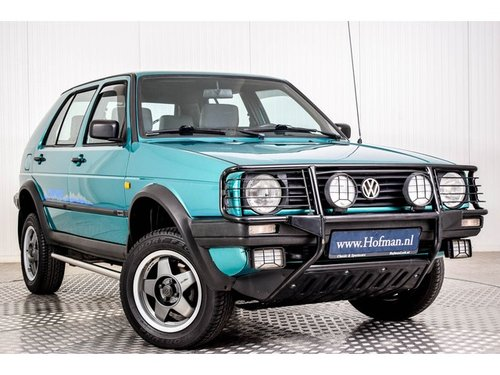 1992 Volkswagen Golf MK2 Syncro Country 4X4 For Sale (picture 6 of 6)