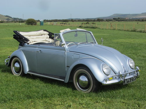 1970 VW Beetle Karmann Convertible  SOLD (picture 1 of 6)