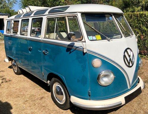 1967 Volkswagen Samba, T1 Samba, T1 Deluxe SOLD (picture 1 of 6)
