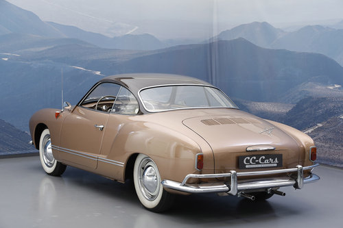 1956 Volkswagen Karmann Ghia 1.2 Coupé For Sale (picture 2 of 6)