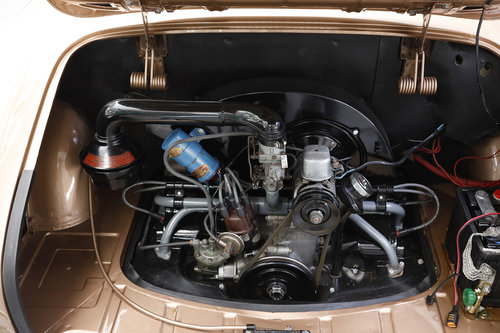1956 Volkswagen Karmann Ghia 1.2 Coupé For Sale (picture 5 of 6)