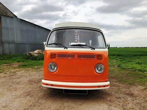 1975 Volkswagen T2 bay window pop top campervan SOLD (picture 2 of 6)