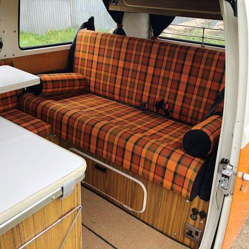 1975 Volkswagen T2 bay window pop top campervan SOLD (picture 5 of 6)