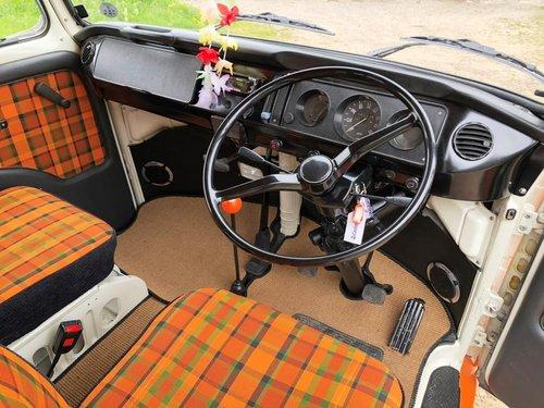 1975 Volkswagen T2 bay window pop top campervan SOLD (picture 6 of 6)