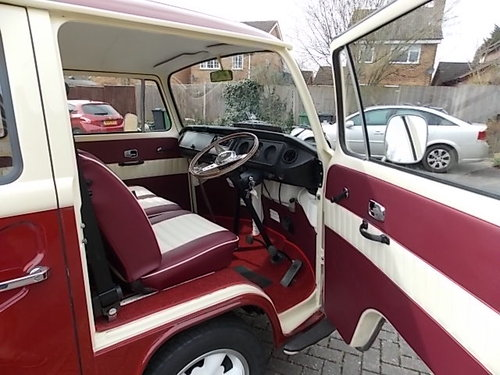 1972 VW Campervan (tax exempt) SOLD (picture 3 of 6)