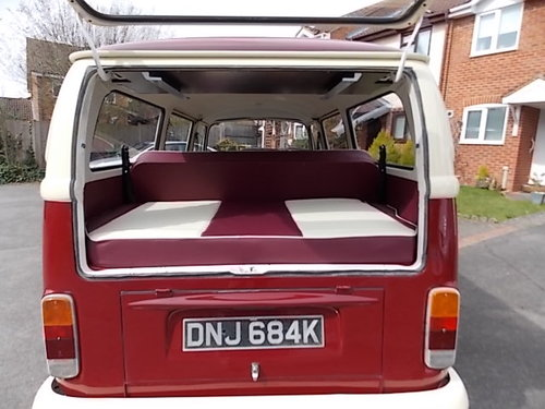 1972 VW Campervan (tax exempt) SOLD (picture 5 of 6)