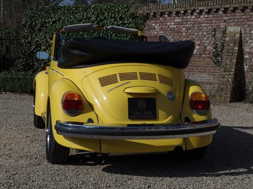 1976 VOLKSWAGEN KÄFER / BEETLE 1600 CONVERTIBLE ONLY 36.135 MILES For Sale (picture 6 of 6)