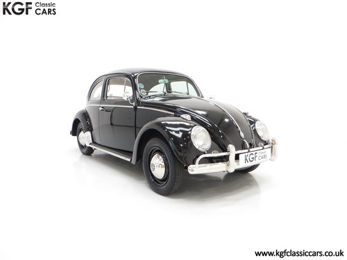 A Matching Numbers 1958 Volkswagen Beetle 1200 De Luxe Sedan SOLD (picture 1 of 6)