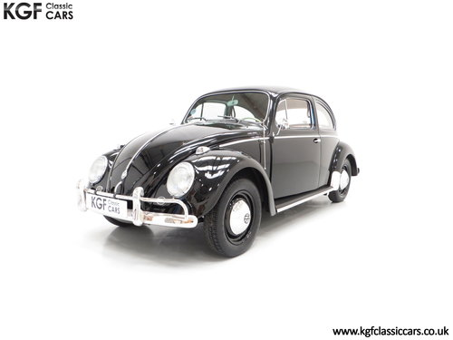 A Matching Numbers 1958 Volkswagen Beetle 1200 De Luxe Sedan SOLD (picture 2 of 6)