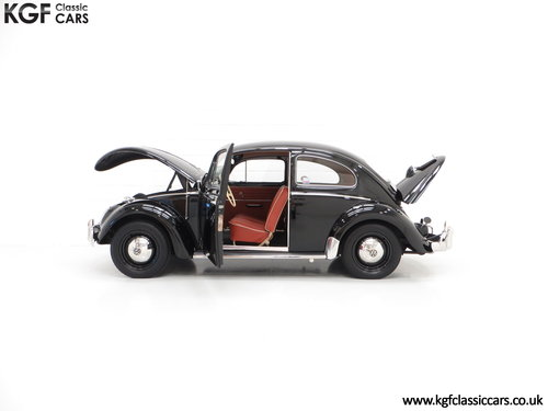 A Matching Numbers 1958 Volkswagen Beetle 1200 De Luxe Sedan SOLD (picture 3 of 6)