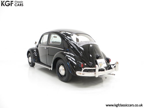 A Matching Numbers 1958 Volkswagen Beetle 1200 De Luxe Sedan SOLD (picture 4 of 6)