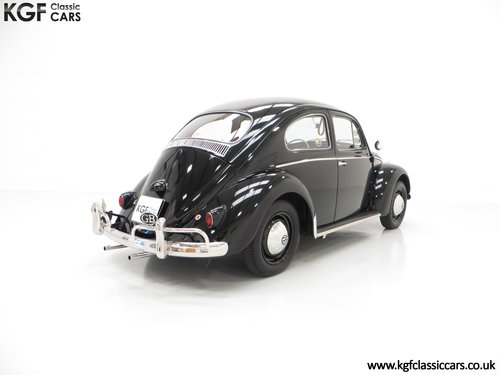 A Matching Numbers 1958 Volkswagen Beetle 1200 De Luxe Sedan SOLD (picture 5 of 6)