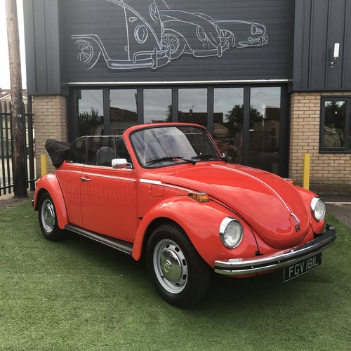 1973 KARMANN CONVERTIBLE BEETLE (74,000 MILES) SOLD (picture 5 of 5)
