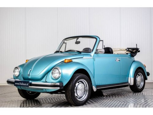 1979 Volkswagen Beetle Convertible 1303 injection For Sale (picture 1 of 6)