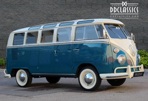 1966 Volkswagen 21-Window Deluxe Micro Bus (LHD) For Sale (picture 2 of 6)