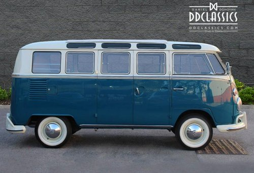 1966 Volkswagen 21-Window Deluxe Micro Bus (LHD) For Sale (picture 4 of 6)