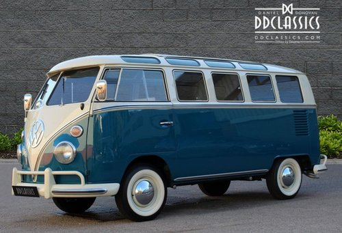 1966 Volkswagen 21-Window Deluxe Micro Bus (LHD) For Sale (picture 1 of 6)