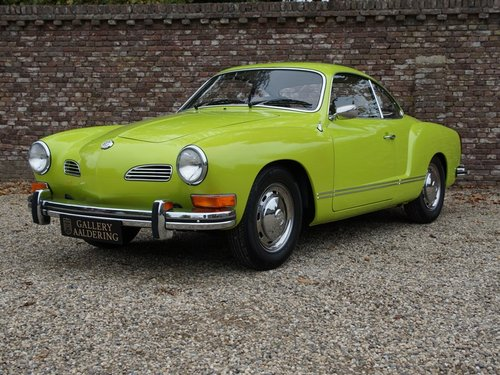 1974 VOLKSWAGEN KARMANN GHIA COUPE ONLY 1 OWNER, ONLY 4.268 MILE For Sale (picture 1 of 6)