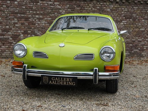 1974 VOLKSWAGEN KARMANN GHIA COUPE ONLY 1 OWNER, ONLY 4.268 MILE For Sale (picture 5 of 6)
