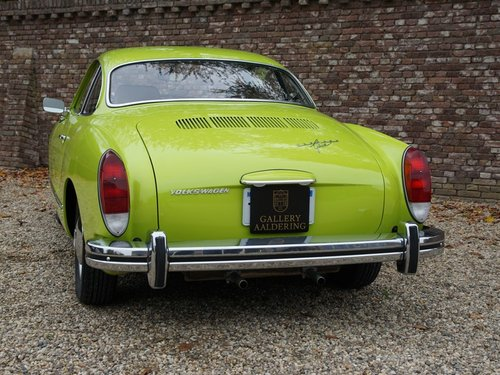 1974 VOLKSWAGEN KARMANN GHIA COUPE ONLY 1 OWNER, ONLY 4.268 MILE For Sale (picture 6 of 6)