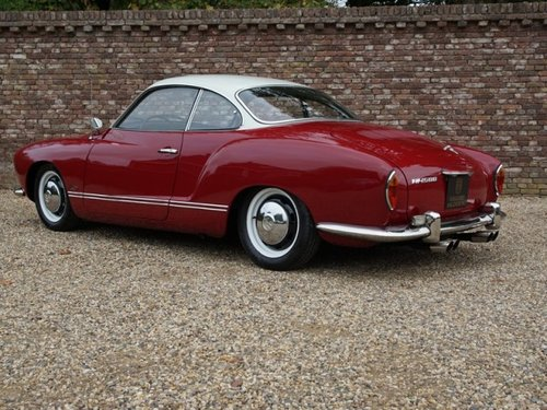 1969 Volkswagen Karmann Ghia Coupe only 500 miles after full rest For Sale (picture 2 of 6)