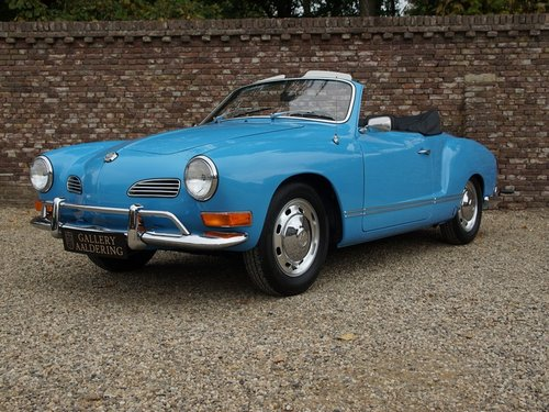 1970 Volkswagen Karmann Ghia Convertible restored condition For Sale (picture 1 of 6)