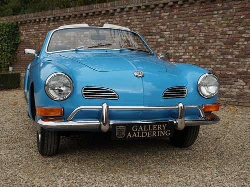 1970 Volkswagen Karmann Ghia Convertible restored condition For Sale (picture 5 of 6)