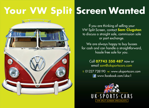 VW T1 Split Screen Camper Van / Bus Purchasing Service.  For Sale (picture 6 of 6)
