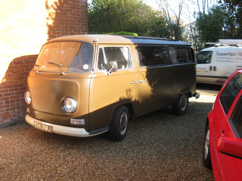 1970 Volkswagon bay window camper SOLD (picture 1 of 5)