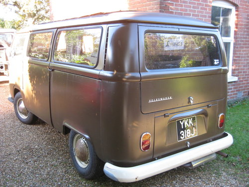 1970 Volkswagon bay window camper For Sale (picture 2 of 5)
