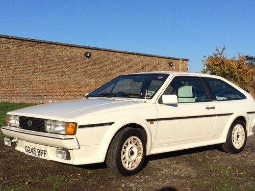 1989 Volkswagen Scirocco mk2 Scala 1.8 injection SOLD (picture 1 of 4)