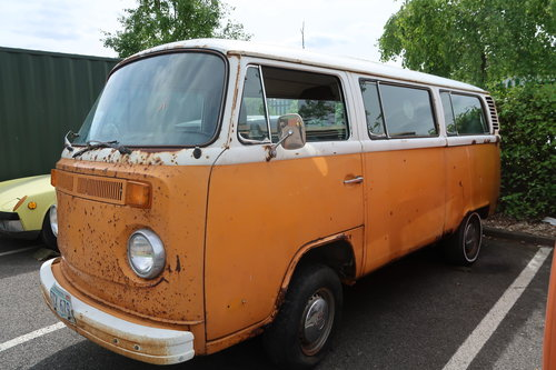 1997 1977 Restoration Project VW Late Bay Microbus LHD sunroof For Sale (picture 1 of 6)