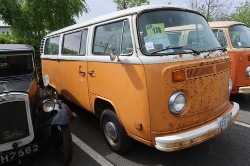 1997 1977 Restoration Project VW Late Bay Microbus LHD sunroof For Sale (picture 3 of 6)