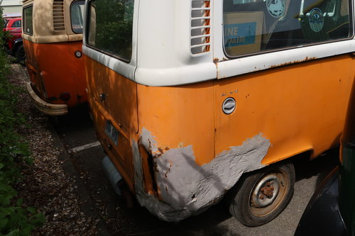 1997 1977 Restoration Project VW Late Bay Microbus LHD sunroof For Sale (picture 4 of 6)