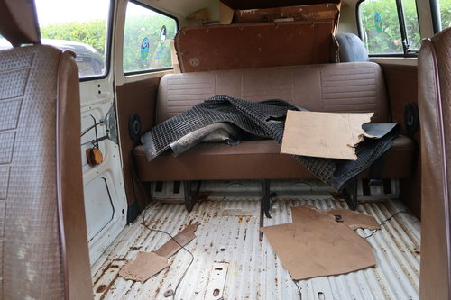 1997 1977 Restoration Project VW Late Bay Microbus LHD sunroof For Sale (picture 5 of 6)