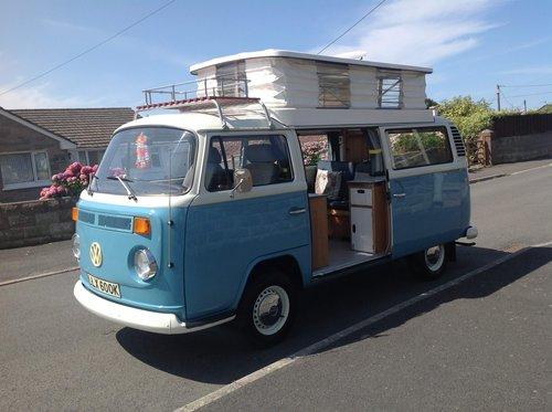 1972 Volkswagen T2 Bay Window Devon For Sale (picture 2 of 6)
