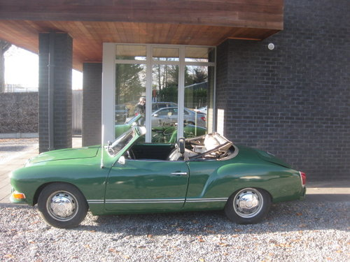 1970 VW Karmann Ghia cabrio Model 1969 For Sale (picture 1 of 6)