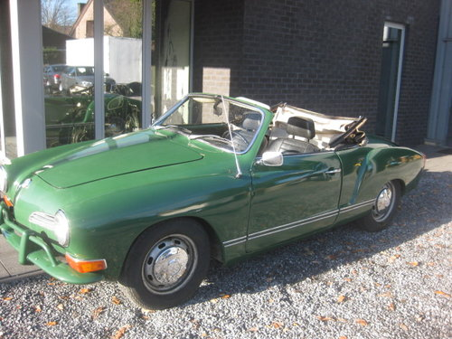 1970 VW Karmann Ghia cabrio Model 1969 For Sale (picture 2 of 6)