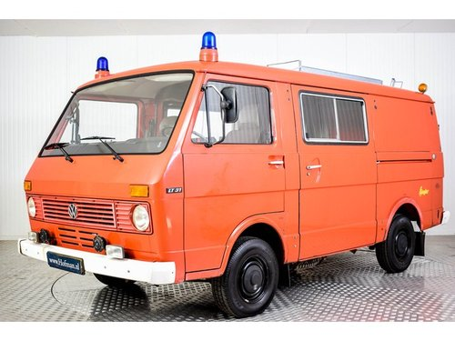 1980 Volkswagen LT 31 Fire Truck For Sale (picture 1 of 6)