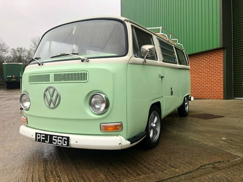 1969 Volkswagen Early Bay Window Westfalia Camper SOLD (picture 1 of 6)