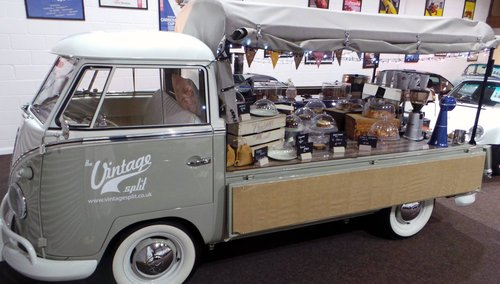 1959 Volkswagen Splitscreen Single Cab Coffee Bar SOLD (picture 1 of 6)
